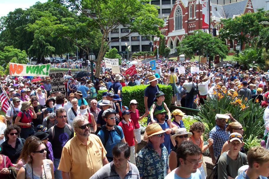 Brisbane protest