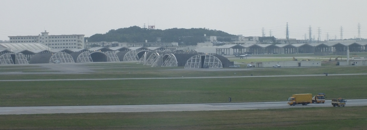 Kadena base in Okinawa